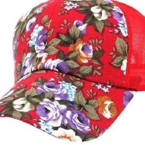 Embroidery Fun Baseball Snapback Red Cap Adult New